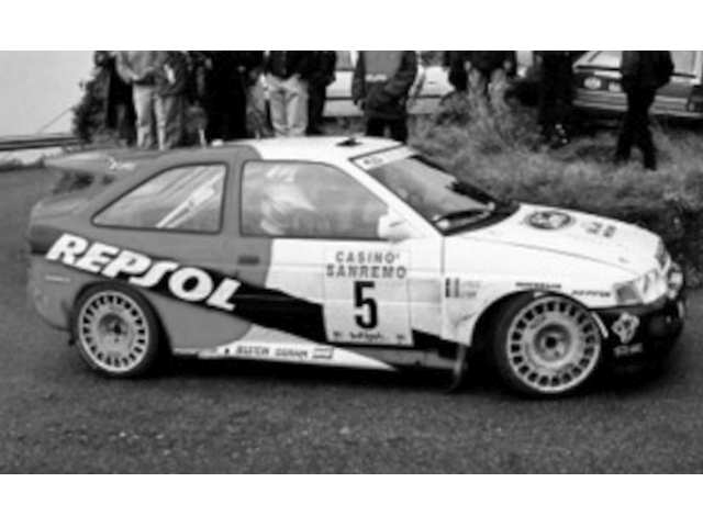 Ford Escort RS Cosworth, San Remo 1996, B.Thiry, no.5