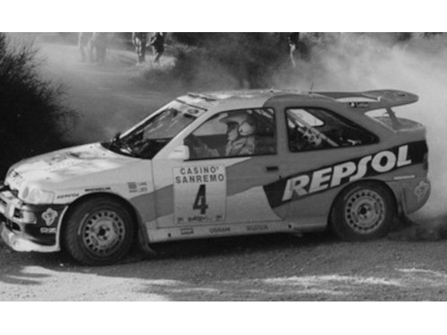 Ford Escort RS Cosworth, San Remo 1996, C.Sainz, no.4